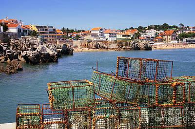 Crab Basket Photograph - Fishing Traps by Carlos Caetano