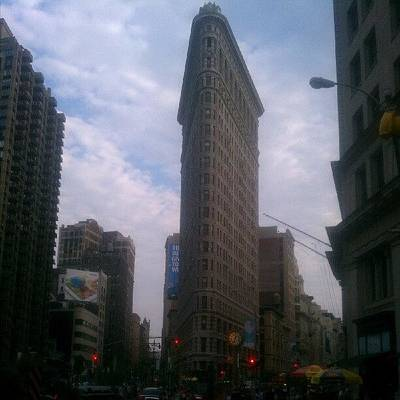 Icon Wall Art - Photograph - #flatiron #building #nyc #architecture by Steven Young