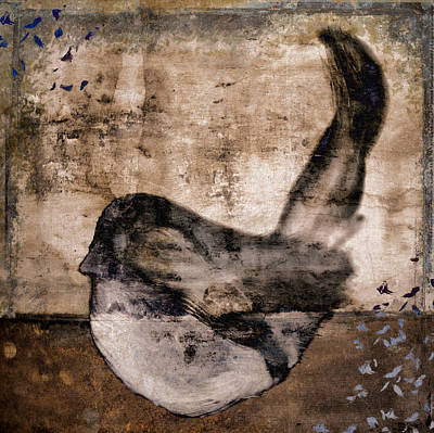 Raku Photograph - Fledgling by Carol Leigh
