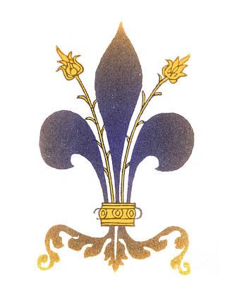 Fleur De Lis Photograph - Fleur-de-lis by Science Source