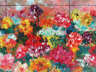 Painting - Floral Bonanza by Tonya Schultz