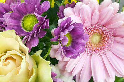 Floral Spring Background Art Print by Aleksandr Volkov