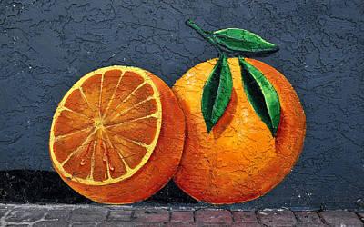 Florida Orange Print by David Lee Thompson