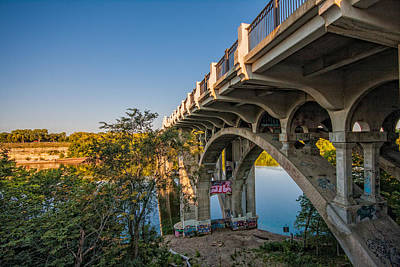 Photograph - Ford Parkway Bridge by Tom Gort