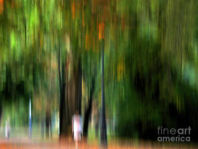 Forest Abstract Art Print