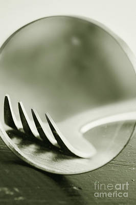 Warped Photograph - Fork by HD Connelly