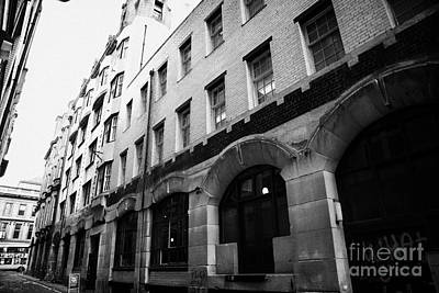 Former Daily Record Building Designed By Charles Rennie Mackintosh In Renfield Lane Glasgow Scotland Art Print