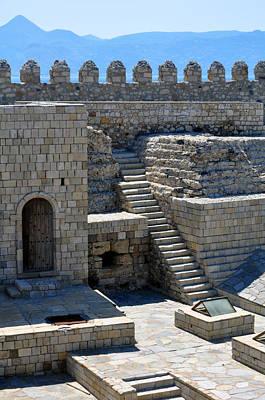 Lion Of St Mark Photograph - Fortification. Venetian Castle Koules. Crete. Greece. by Fernando Barozza