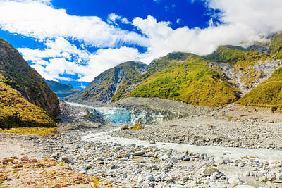 Fox Glacier Photograph - Fox Glacier by MotHaiBaPhoto Prints