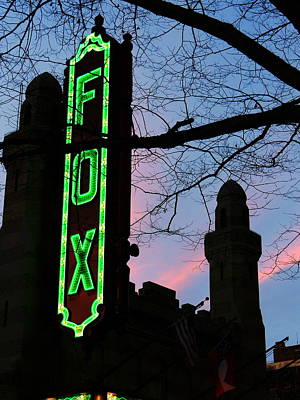 Photograph - Fox Theatre by Utopia Concepts