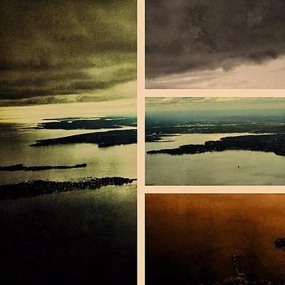 Skylines Photograph - Framed Flight by Natasha Marco