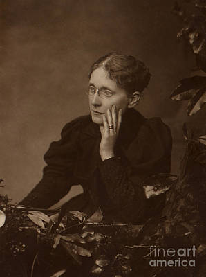 Frances Willard, American Reformer Art Print by Photo Researchers