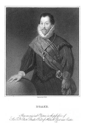 Francis Drake (1540?-1596) Art Print by Granger