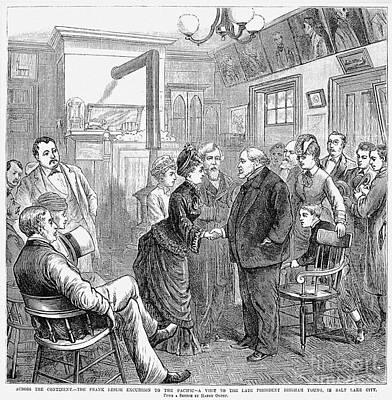 Frank Leslie (1821-1880) Art Print