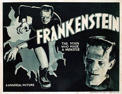 Frankenstein, Boris Karloff, 1931 Art Print by Everett
