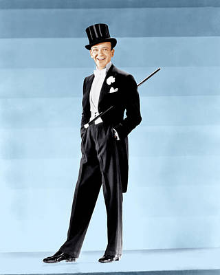 Lapel Photograph - Fred Astaire, Ca. 1930s by Everett