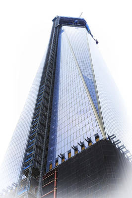 1 Wtc Photograph - Freedom Tower by Vicki Jauron