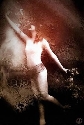 Gun Legler Digital Art Digital Art - French Postcard by Gun Legler