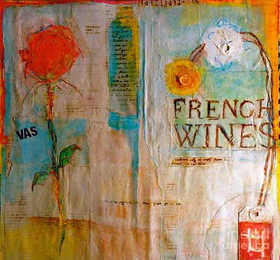 French Wines II Art Print by Nancy Belle
