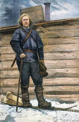 Fridtjof Nansen (1861-1930) Art Print by Granger