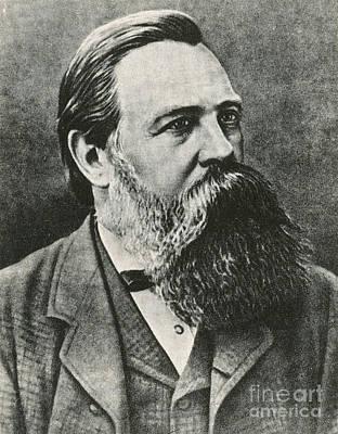 Friedrich Engels, German Philosopher Art Print by Photo Researchers