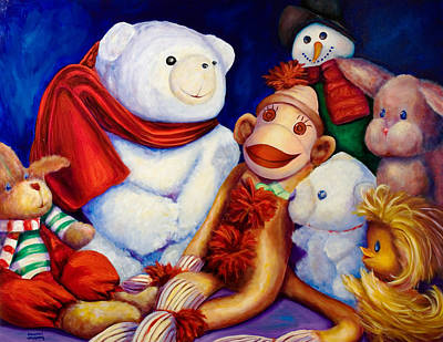 Painting - Friends by Shannon Grissom