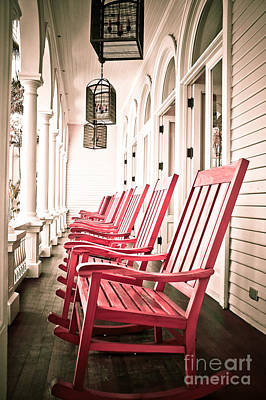 Front Porch Art Print by Kelly Wade