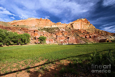 Photograph - Fruita Historic District by Adam Jewell