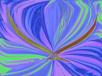 Albatross Digital Art - Fulfillment  by Tim Allen