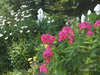 Digital Art - Garden In Franconia by Denise Dempsey Kane