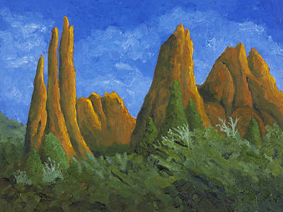 Painting - Garden Of The Gods by Garry McMichael