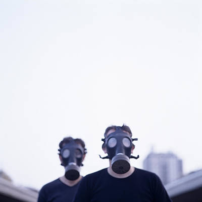 Terrorist Photograph - Gas Masks by Cristina Pedrazzini