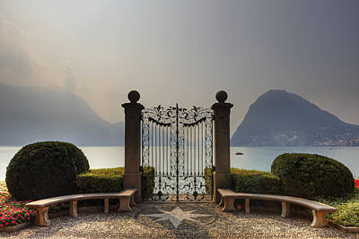 Gateway To The Lake Of Lugano Art Print by Joana Kruse
