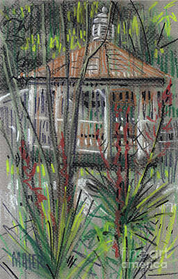 Gazebo Painting - Gazebo by Donald Maier