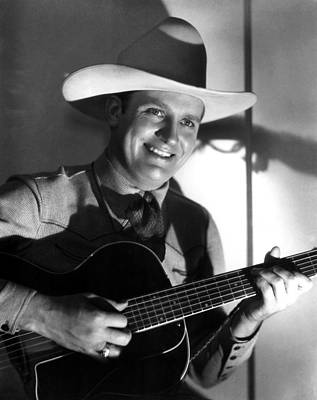 1998 Obituaries Photograph - Gene Autry, C. 1940s by Everett