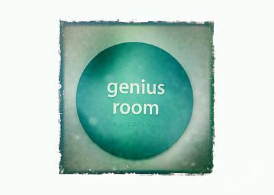 Genius Room Art Print by Nina Prommer
