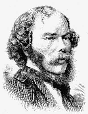 George Henry Lewes Print by Granger
