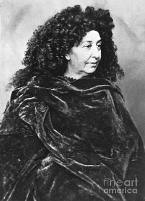George Sand, French Author And Feminist Print by Photo Researchers