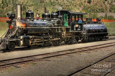 Photograph - Georgetown Loop Train by David Bearden