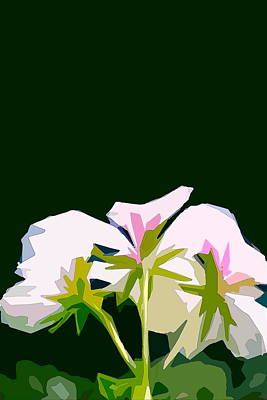 Geranium 3 Art Print by Pamela Cooper