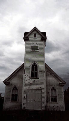 Photograph - Ghost Church by Christy Usilton