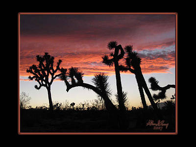 Digital Art - Giants Of Joshua Tree by Atheena Romney