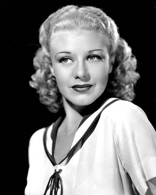 Ginger Rogers, In A Publicity Portrait Art Print by Everett