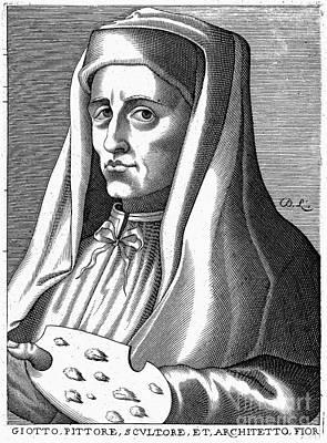Giotto (1266?-1337) Art Print