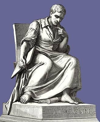 Giovanni Cassini, Italian Astronomer Art Print by Sheila Terry