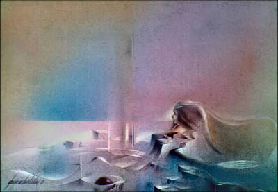 Pastel - Girlscape 1980 by Glenn Bautista