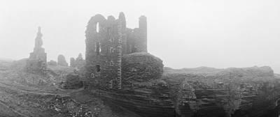 Girnigoe In Fog Original by Jan W Faul