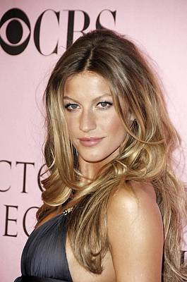 Gisele Bundchen At Arrivals For The Art Print