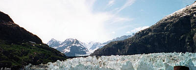 Photograph - Glacier Bay by C Sitton