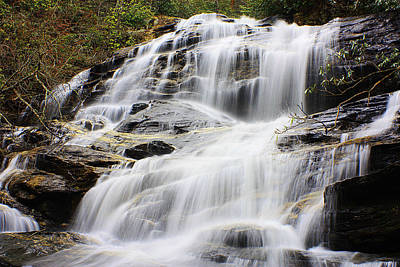 Photograph - Glen Falls Highlands Nc 1 by Sheila Kay McIntyre